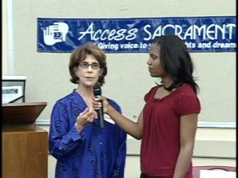 Access Sacramento Media Event