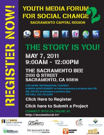 Second Annual Youth Media Forum – Registration and Flyers