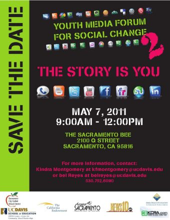 Youth Media Forum for Social Change – Save the Date!