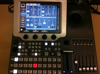 "New ""Indigo"" Video Switcher in Control Room"