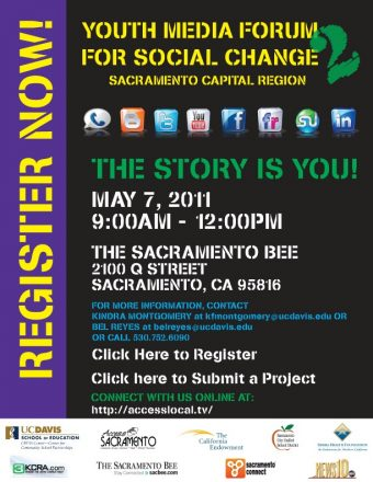 "Bee Hosts 2nd Annual ""Youth Media Forum for Social Change"""