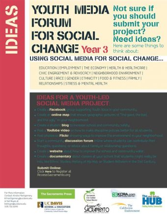 Call for Submissions – Third Annual Youth Media Forum for Social Change