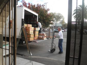 VIDEO: Community Gathers Food For Families Who Need It