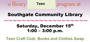 Southgate Library's Books & Clothes Swap