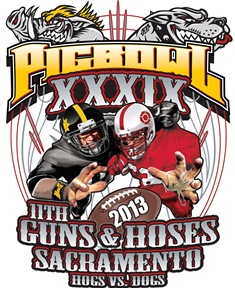 """LIVE"" Guns & Hoses 39th Annual Charity Football Game on SATURDAY JANUARY 26, 2013"