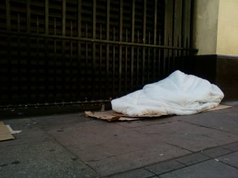 Homelessness rising