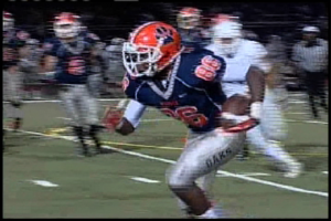 Alex Van Dyke, Jr. of Cosumnes Oaks had 3 catches for 24 yards against Franklin.