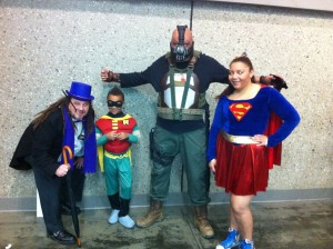 Large or Small, Wizard World Comic Con fans really get into the mood.