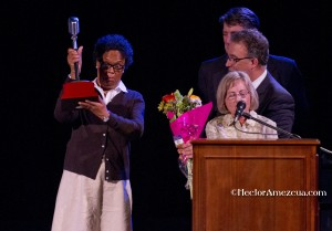 "Access Sacramento's ""Power of Voice"" Award goes to Writer Ginger Rutland"