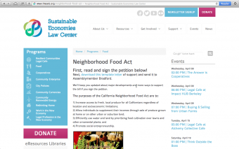 Lawmakers urge Californians to sign the Neighborhood Food Act
