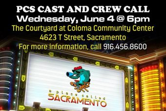 Tonight! June 4th! A Place Called Sacramento Cast & Crew Call 2014