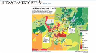 Maps provide citizens with a view of possible environmental risks