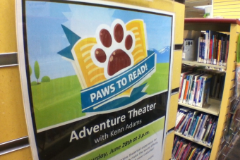 "VIDEO: ""Paws-to-Read"" Summer Reading Program Free to Public"