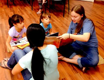 """Reading Buddies""  Encourages Literacy in Youth"