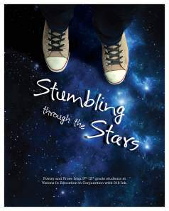Published in the Spring of 2104, Stumbling Through Stars is a book that contains a collection of poetry and prose, with advice for budding writers as well.