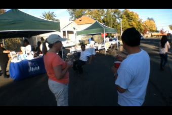 VIDEO: South Oak Park Association holds a Block Party