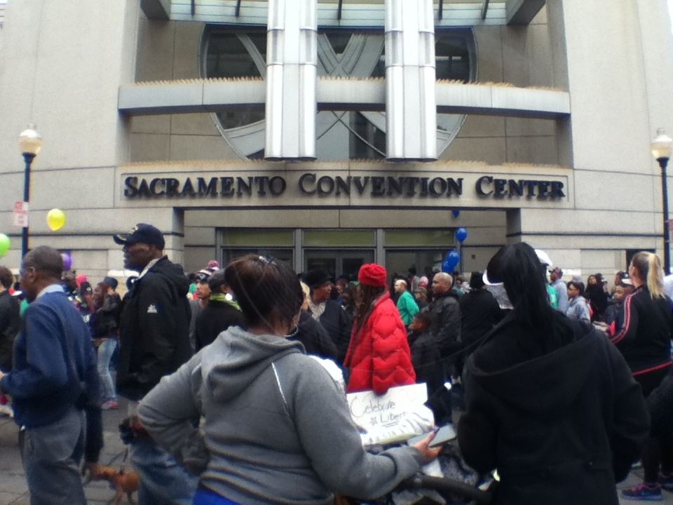 VIDEO: MLK March in Sacramento
