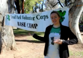 VIDEO: Land Park Volunteer Corps 2015 Kickoff
