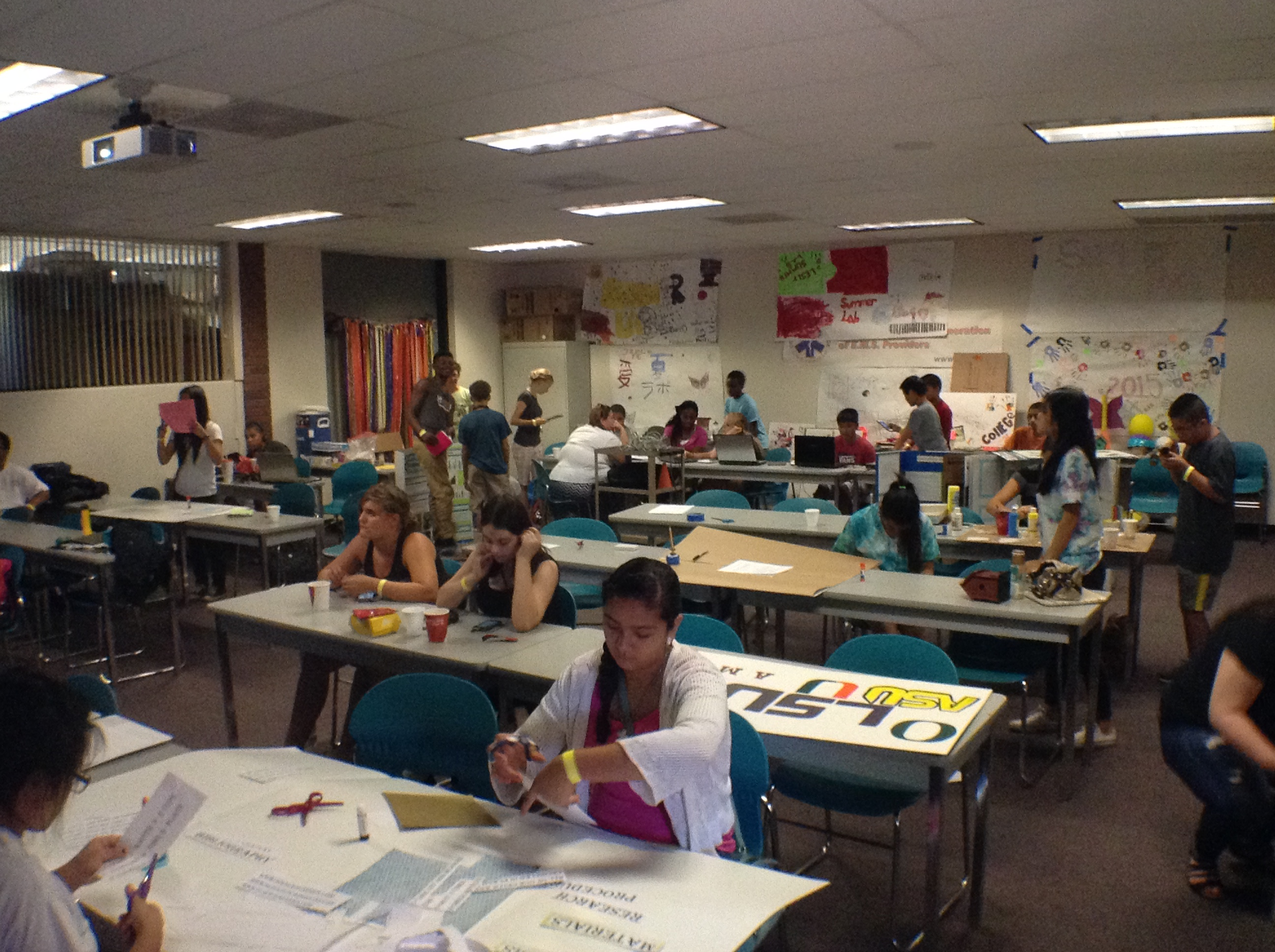 VIDEO: Summer LAB Program with People Reaching Out
