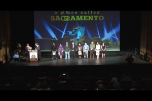 A Place Called Sacramento Filmmakers on Stage