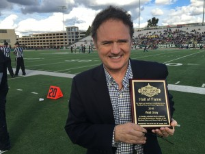 ABC 10's Walt Gray named to the Pig Bowl Hall of Fame after doing play by play of the game since 1985.