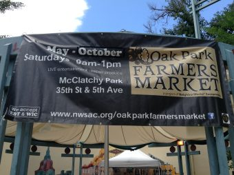 VIDEO: Oak Park Farmer's Market Helps The Community