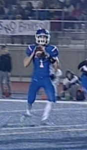 Folsom Quarterback Joe Curry