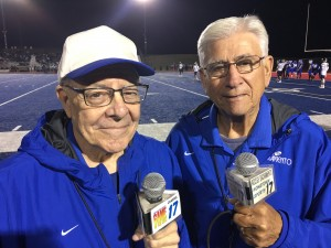 Announcers Will James & Jim Dimino for Access Sacramento's Game of the Week.