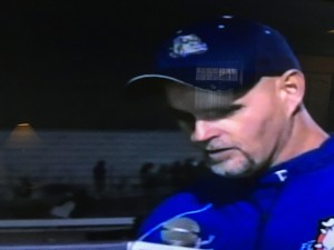 Folsom Head Coach Kris Richardson