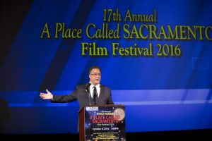 Access Sacramento Executive Director and Film Festival Director Gary Martin
