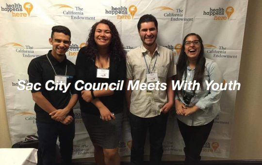 Sac City Council Hold Sacramento Teens Speak Up At Council Meeting For Youth Programs Meeting On Investment For Youth