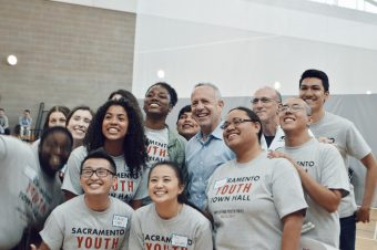 VIDEO: Sacramento Youth Town Hall Speaks Directly To Mayor