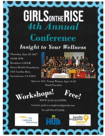 Upcoming Event: Girls On The Rise 4th Annual Conference