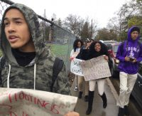 VIDEO: National School Walkout @ Sacramento Charter High School