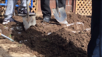 VIDEO: Changing the Hood 4 Good – Backyard Garden Build