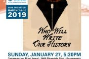 "Live Wire this week  Sacramento's Jewish   Film Festival  ""Who Will Write Our History"""