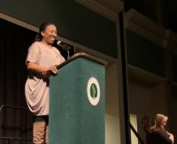 VIDEO: Tarana Burke, #MeToo Founder, Visits Sacramento