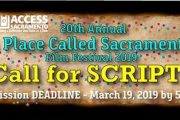 Live Wire Wednesday 5 PM on Channel 17 A Place Called Sacramento Script Writing Competition & 20th Anniversary Film Festival